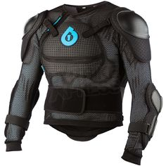 SixSixOne 661 Kids Comp Pressure Suit Body Armour