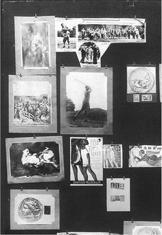 Aby Warburg, Atlas Mnemosyne. Panel 77, 1924 – 1929 Atlas, Information Overload, Cartography, Ephemera, Gallery Wall, Collage, Make It Yourself, Poster, Romans
