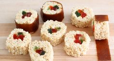 Rice Krispies Treats Kid Sushi Recipe