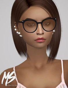 Cat eyes sunglasses at Merakisims via Sims 4 Updates