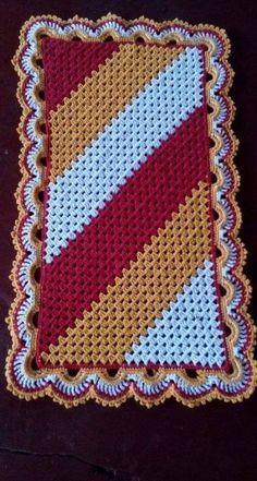 Crochet Afghan Star Beautiful 18 Ideas – top crop , polos cortos , dresses , s… – Braided Rugs Diy Crochet Carpet, Crochet Home, Crochet Rug Patterns, Crochet Stitches, Crochet Rugs, Crochet Potholders, Crochet Pillow, Baby Blanket Crochet, Crochet Baby
