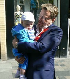 You will have to work on your baby handling technique if you are going to stand for election Eddie.