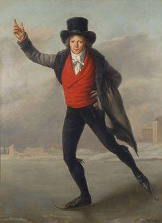 Bertrand Andrieu as a Skater, Pierre Maximilien Delafontaine, 1798. Musée de la Monnaie, Paris