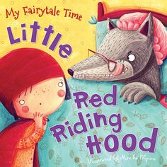 Little Red Riding Hood on Illustration Served