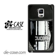 Ducati In Black Motorcycle DEAL-3746 Samsung Phonecase Cover For Samsung Galaxy Note Edge
