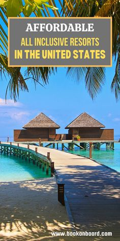 Honeymoon Destinations All Inclusive, Us Beach Vacations, Affordable Family Vacations, Best Family Resorts, All Inclusive Family Resorts, Vacations In The Us, Family Vacation Destinations, Vacation Trips, Solo Vacation