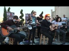 "© 2011 WMG  Helena (Live Acoustic at 98.7FM Penthouse) [Video]    http://MyChemicalRomance.com MCR performs ""Helena"" during an an exclusive acoustic session for 98.7FM.    Shot/Edited by Claire Marie Vogel"