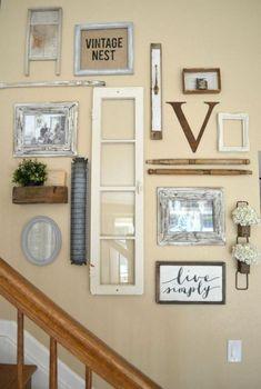 40 Cute Farmhouse Wall Decor Ideas