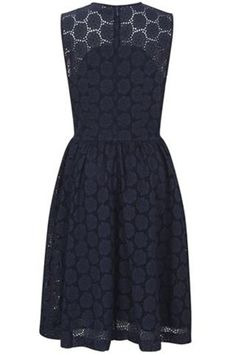 Orient Eyelets Dress - Dresses - French Connection