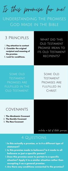 Understanding God's promises made in the Bible | Scripture Confident Living Love Your Family, Love Your Life, Christian Women, Christian Living, Abrahamic Covenant, I Need Jesus, Inspirational Verses, Bible Study Tools, Answered Prayers