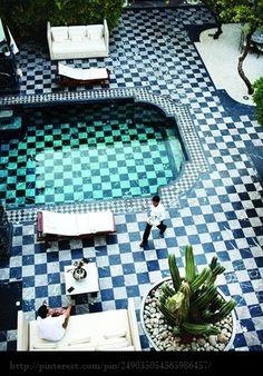 continuous tile....