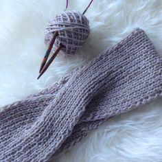 patron gratuit pour tricoter un headband au point mousse tricot accessoires pinterest. Black Bedroom Furniture Sets. Home Design Ideas