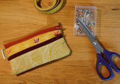 [Tuto] Pochette à double poches zippées – Mon Bungalow Couture