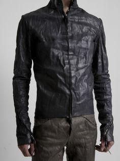 A+ - Reverse Horse Leather Biker Jacket -Want everthing! Men's Leather Jacket, Leather Men, Leather Jackets, Dark Fashion, Mens Fashion, Guy Fashion, Men's Wardrobe, Leather Dresses, Black Style