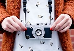 Funda para celular cámara de fotos vintage