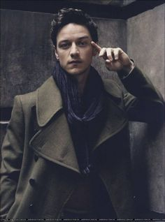 James MacAvoy. There is just something about him.