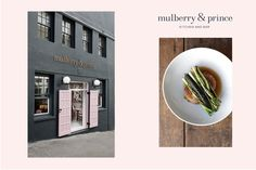Identity Design for Mulberry & Prince Kitchen and Bar.