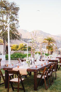 Adamson House Wedding  Read more - http://www.stylemepretty.com/california-weddings/malibu/2013/12/23/adamson-house-wedding/