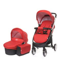 4 Baby Atomic Multifunkciós 3 1 Babakocsi  piros 7b04bd2cb8