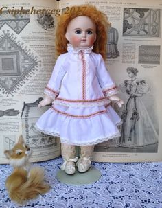 "12"" french doll batiste clothes"