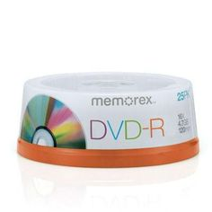 4.7GB 25 Spindle DVD R
