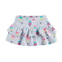 She'll look too cute in this girls' tiered skort from Jumping Beans. Spanish Baby Clothes, Cute Baby Clothes, Girls Skorts, Luxury Baby Clothes, Little Girl Skirts, Baby Bloomers, Baby Dress, Kids Outfits, Kids Fashion