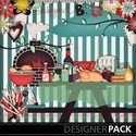 """Bundle Good BBQ"" digital scrapbooking kit from MyMemories"