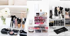 7 Clever Ways To Organise Your Beauty Stash