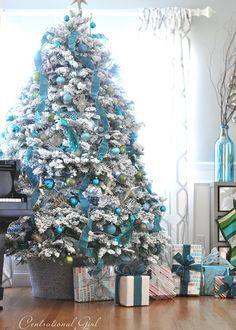 Frozen Themed Christmas Tree Ideas
