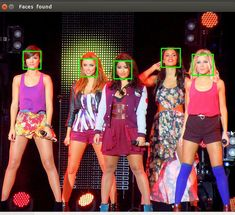 Python face detection example 2: fixed
