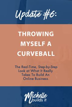 It's week 6 of business creation, and I threw myself a huge curveball in making a big decision a month before I thought I'd make it. Click through to read all about what it really takes to build a successful online business - and how I used competition to my advantage to lead ahead in my planning process.
