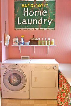 I love Serena's (The Farm Chicks) laundry.
