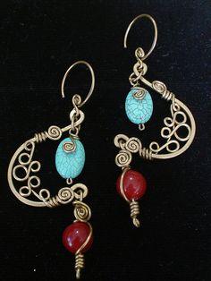 Indian Night Earrings