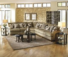 Hartwell Bronze Sectional Collection