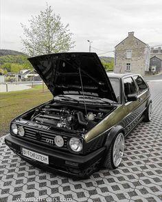 Volkswagen Golf Mk2, Vw Mk1, Jetta Mk1, City Golf, Car Poses, Vw Pickup, Bmw E38, Golf Mk3, Unique Cars