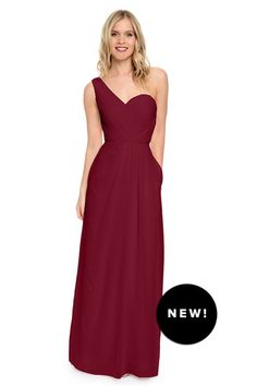 Shop Dove & Dahlia Bridesmaid Dress - Louisa in Poly Chiffon at Weddington Way. Find the perfect made-to-order bridesmaid dresses for your bridal party in your favorite color, style and fabric at Weddington Way.