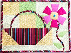"May Candle Mat Pattern free Download 9-1/2"" x 12-1/2"""