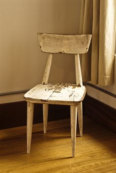 Original prototype for the Meyer Chair at [o]bject house