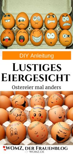 Instructions DIY painting Easter eggs instead of egg coloring - Fall Crafts For Kids Easter Egg Dye, Coloring Easter Eggs, Egg Coloring, Diy Ostern, Easter Colors, Fall Crafts For Kids, Easter Table, Cool Diy, Easter Crafts