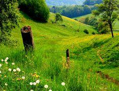 beautiful,rolling, farmland.....