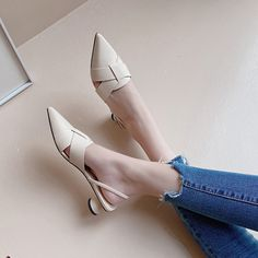 The post Chiko Edelia Pointed Toe Block Heels Pumps appeared first on Chiko Shoes. Kitten Heel Pumps, Shoes Heels Pumps, Kitten Heels Outfit, Block Heels Outfit, Pointed Toe Block Heel, Pointed Toe Heels, Heels Outfits, Platform Shoes, Beautiful Shoes