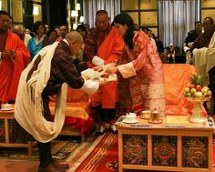 Queen Jetsun Pema of Bhutan attended an event held by Ability Bhutan Society in Bhutan. The Queen launches the DVD created by Wangsel Institute which teaches communication support to families and service providers of young deaf children and contains over 300 signs, incorporating Bhutanese sign language.