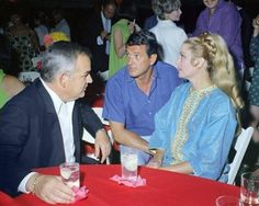 Grace Kelly and Prince Rainier of Monaco with Rock Hudson 1967.