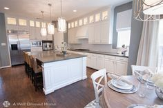 Kitchen Remodel by Emily Hewett of A Well Dressed Home, LLC. Go here to see more about this project:  http://awelldressedhome.com/3152-before-after-cantrell-kitchen-remodel-reveal/