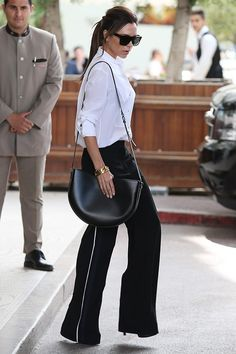 Victoria Beckham Off Duty Style File - Image 24