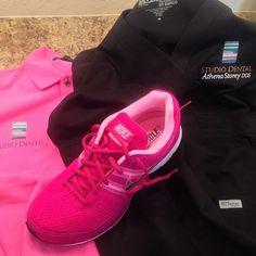 Some new uniforms and #Nike kicks for the team at Studio Dental - #BestDentist #LookFresh