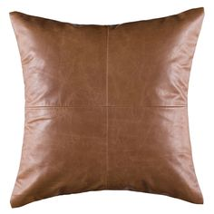 Leather Cushion 50x50cm from Freedom at Crossroads Homemaker Centre