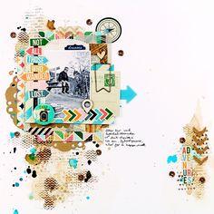 A blog about scrapbooking sketches, scrapbook news, Papirdesign, Inzpira magazine, SATW, Citrus Twist kits, Pinkfresh studio, mixed media, tutorials