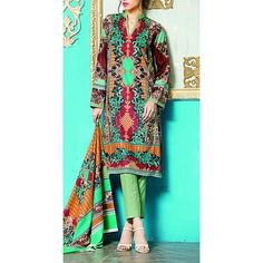 Multicolor Printed Linen Dress Contact: (702) 751-3523  Email: info@pakrobe.com  Skype: PakRobe
