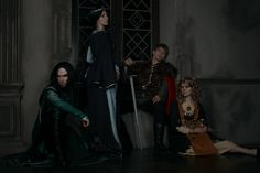 Hogwarts Founders Cosplay. Founders times. And the game of their houses) The…